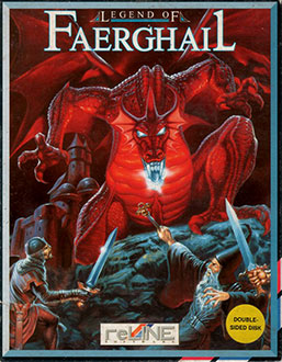 Portada de la descarga de Legend of Faerghail