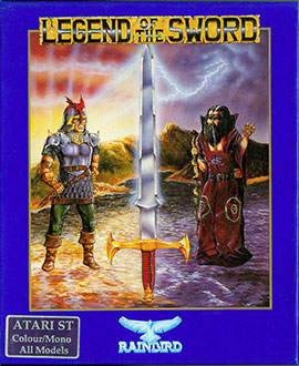 Portada de la descarga de Legend of the Sword