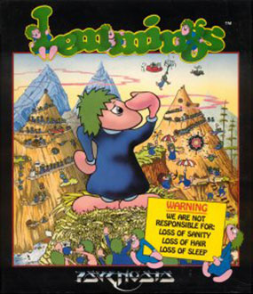 Juego online Lemmings (Atari ST)