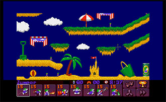 Imagen de la descarga de Lemmings 2: The Tribes