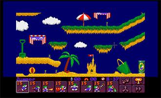 Pantallazo del juego online Lemmings 2 The Tribes (Atari ST)