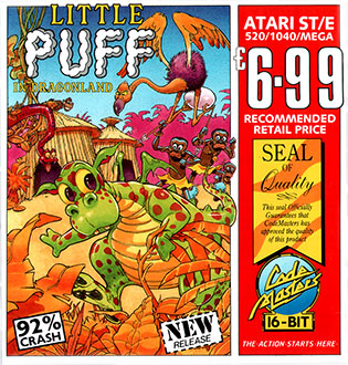 Juego online Little Puff in Dragonland (Atari ST)