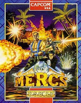 Juego online Mercs (Atari ST)
