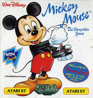 Juego online Mickey Mouse: The Computer Game (Atari ST)