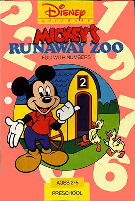 Portada de la descarga de Mickey's Runaway Zoo