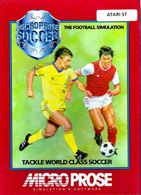 Portada de la descarga de MicroProse Soccer