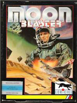 Portada de la descarga de Moon Blaster