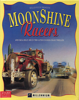 Juego online Moonshine Racers (Atari ST)