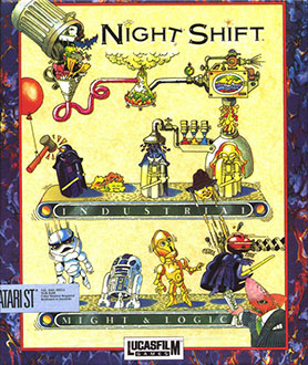 Juego online Night Shift (Atari ST)