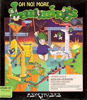 Portada de la descarga de Oh-No! More Lemmings