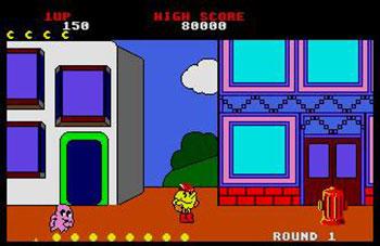 Pantallazo del juego online Pac-Land (Atari ST)