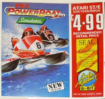 Juego online Pro Powerboat Simulator (Atari ST)