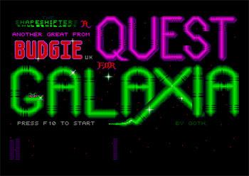 Portada de la descarga de Quest Galaxia