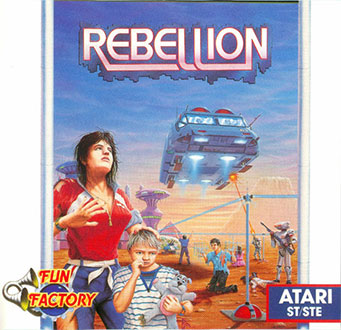 Portada de la descarga de Rebellion