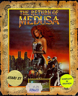 Portada de la descarga de The Return of Medusa