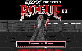 Juego online Rogue II (Atari ST)