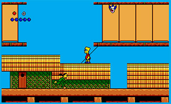 Imagen de la descarga de The Simpsons: Bart vs. The World