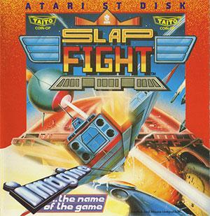 Carátula del juego Slap Fight (Atari ST)