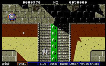 Pantallazo del juego online Slap Fight (Atari ST)