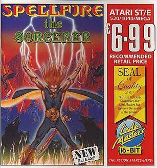 Juego online Spellfire the Scorcerer (Atari ST)