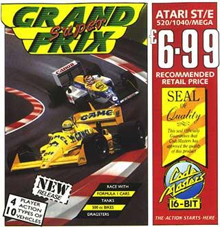 Portada de la descarga de Super Grand Prix
