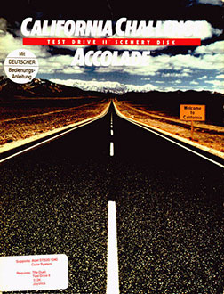 Juego online Test Drive II Scenery Disk: California Challenge (Atari ST)