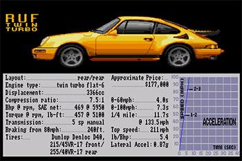 Imagen de la descarga de Test Drive II Car Disk: The Supercars