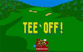Juego online Tee off! (Atari ST)