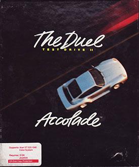 Portada de la descarga de The Duel: Test Drive II