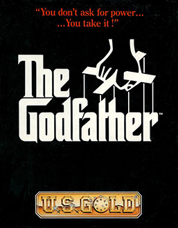 Carátula del juego The Godfather (Atari ST)