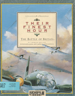 Juego online Their Finest Hour: The Battle of Britain (Atari ST)