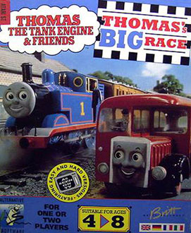 Portada de la descarga de Thomas The Tank Engine & Friends II – Thomas's Big Race