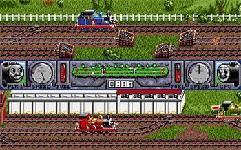 Imagen de la descarga de Thomas The Tank Engine & Friends II – Thomas's Big Race