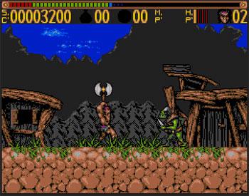 Imagen de la descarga de Torvak the Warrior