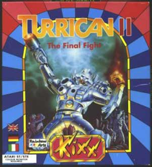 Portada de la descarga de Turrican II