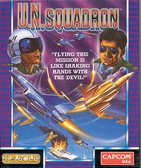 Juego online U.N. Squadron (Atari ST)