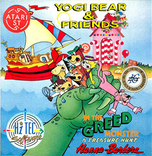 Juego online Yogi Bear & Friends in the Greed Monster (Atari ST)
