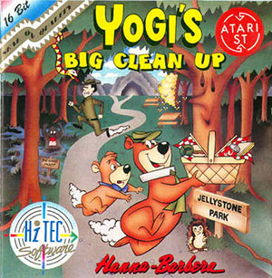Juego online Yogi's Big Clean Up (Atari ST)
