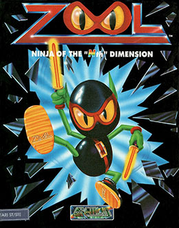 Juego online Zool (Atari ST)
