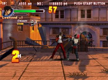 Pantallazo del juego online Demolish Fist (Atomiswave)