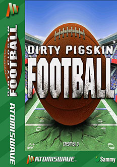 Portada de la descarga de Dirty Pigskin Football