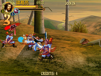 Pantallazo del juego online Knights of Valor - The Seven Spirits (Atomiswave)