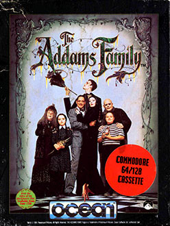 Juego online The Addams Family (C64)