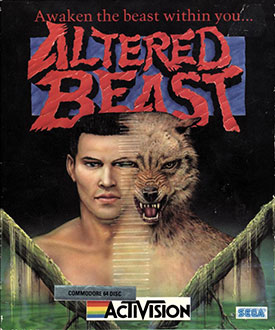 Portada de la descarga de Altered Beast