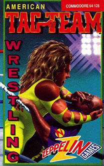 Juego online American Tag-Team Wrestling (C64)