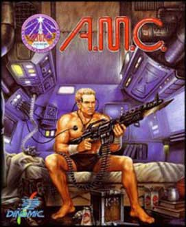 Juego online AMC: Astro Marine Corps (C64)