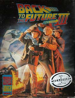 Juego online Back to the Future Part III (C64)