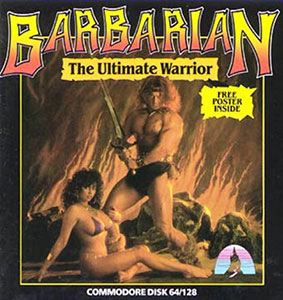 Juego online Barbarian - The Ultimate Warrior (C64)