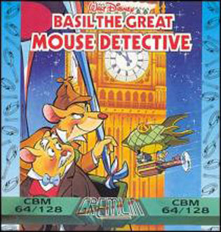 Juego online Basil the Great Mouse Detective (C64)