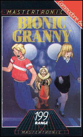 Portada de la descarga de Bionic Granny